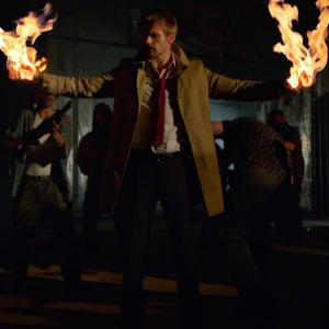 Welsh actor Matt Ryan as John Constantine in Constantine, airing October 24, 2014.