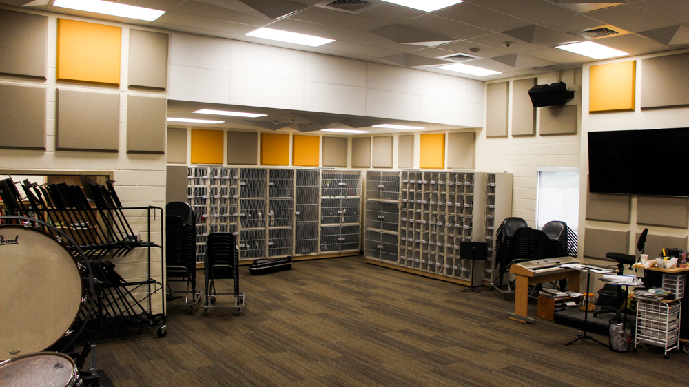 Band Room Gets Needed Facelift Eagle Eye