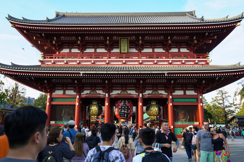 Main Hall, Sensoji Temple