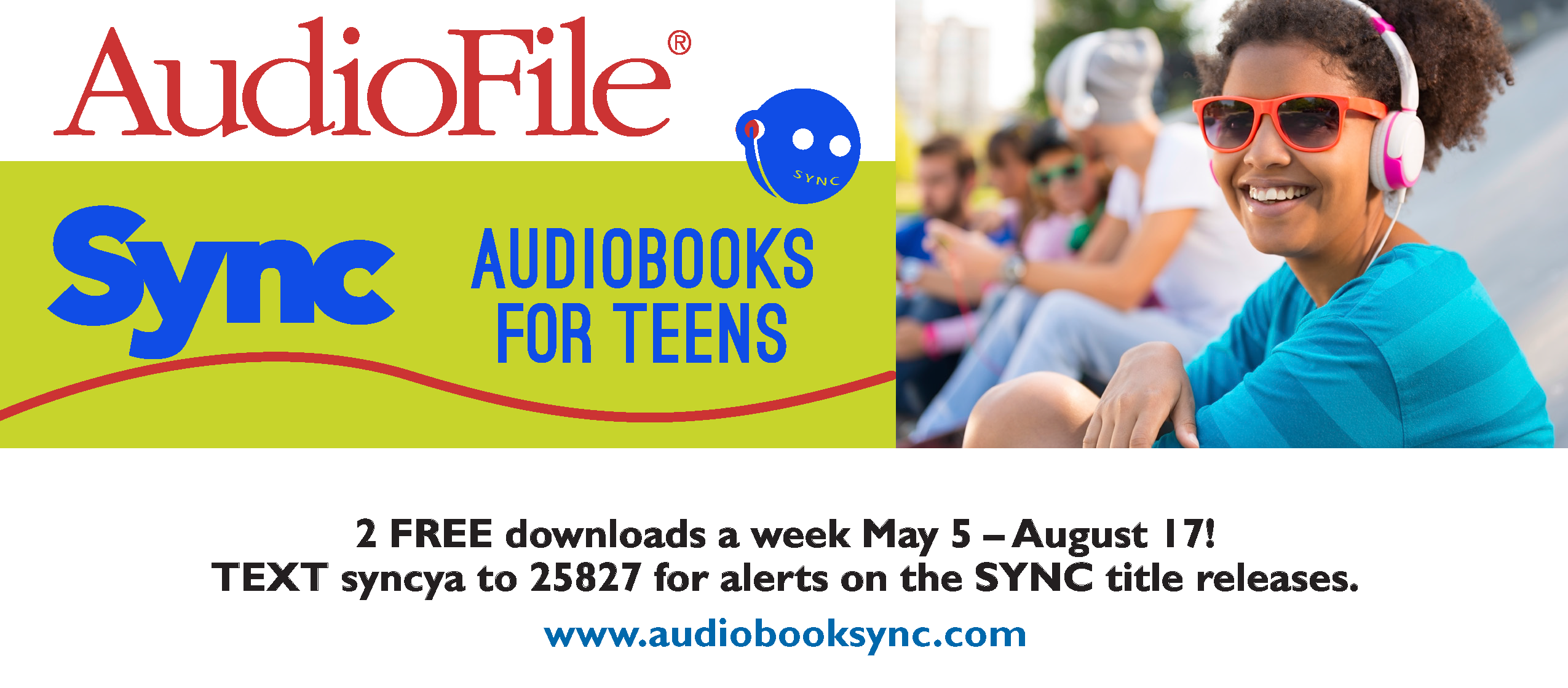 Free Audio Books through Sync Audio