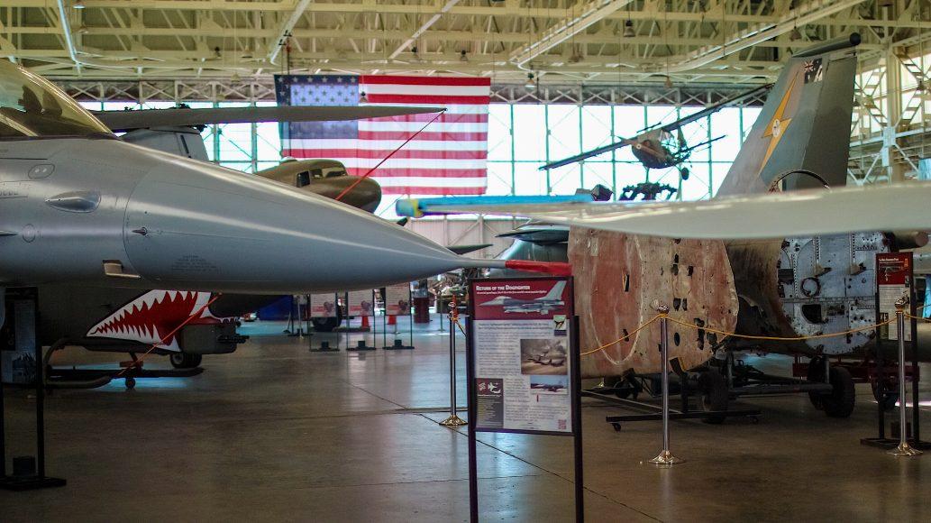 Warplanes in Hangar 79